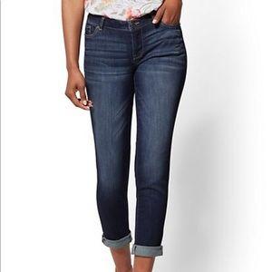 Curvy Boyfriend Jeans 12/14